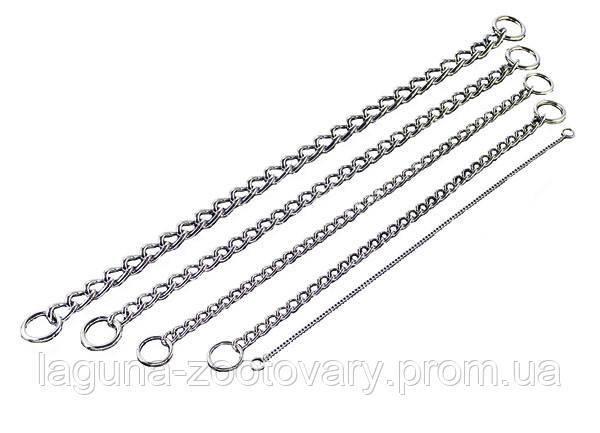 Sprenger круглое звено цепочка-ошейник для собак, 65см/ 5 мм, хромированная сталь