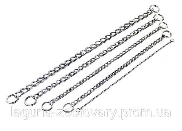 Sprenger круглое звено цепочка-ошейник для собак, 80см/ 5 мм, хромированная сталь, фото 2