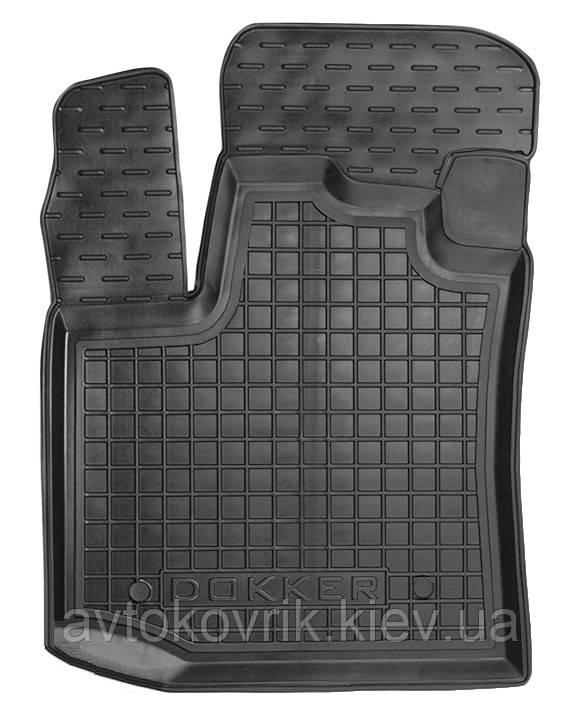 Полиуретановый водительский коврик в салон Renault Dokker 2013- (AVTO-GUMM)