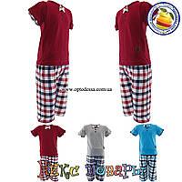Детские летние костюмы для мальчика от 2 до 8 лет (4409)