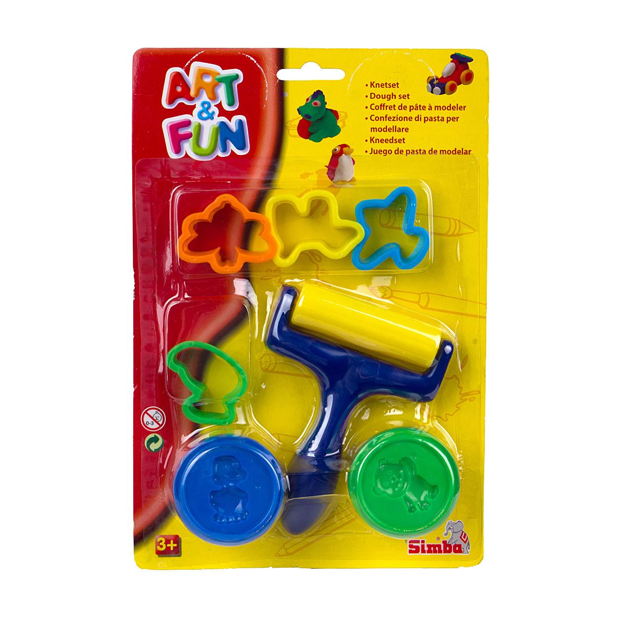"""Творчество и рукоделие «Simba Dickie Group» (6324279) набор для лепки """"Первые попытки"""""""