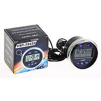 Часы термометр вольтметр для автомобиля VST 7042V для ВАЗ 2106 - CARBON интернет- магазин автоаксессуаров в Харькове
