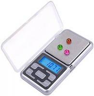 Высокоточные ювелирные весы до 200 гр. (шаг 0,01г). Карманные электронные весы. Отличное качество. Код: КДН250