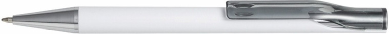 Ручка пластиковая ALPHA White. Чёрная