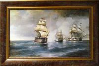 Картина Море с парусниками