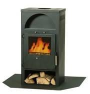 Дровяная печь камин каминофен Глазго на площадь до 60 м2