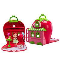 Игровой набор Шарлотта Земляничка Ягодный домик (с куклой и аксессуарами, с ароматом) Strawberry Shortcake