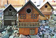 Изящный домик для птиц. Скворечник. Ручная работа. Отличное качество. Купить онлайн. Код: КДН253