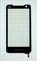 Тачскрин сенсорное стекло для Lenovo A798 black