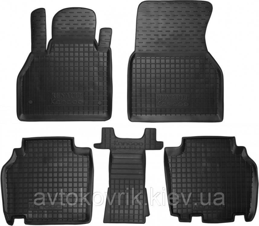 Полиуретановые коврики в салон Renault Kangoo II 2010- (AVTO-GUMM)