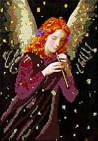 Схема для вышивки бисером POINT ART Ангел, размер 21х30 см