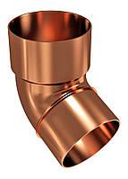 Колено водосточной трубы Regenau D100 (медное)