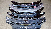Мухобойка (Дефлектор капота) Фольксваген Поло, VW Polo 5 с 2009 г.в.(с 2010 седан)