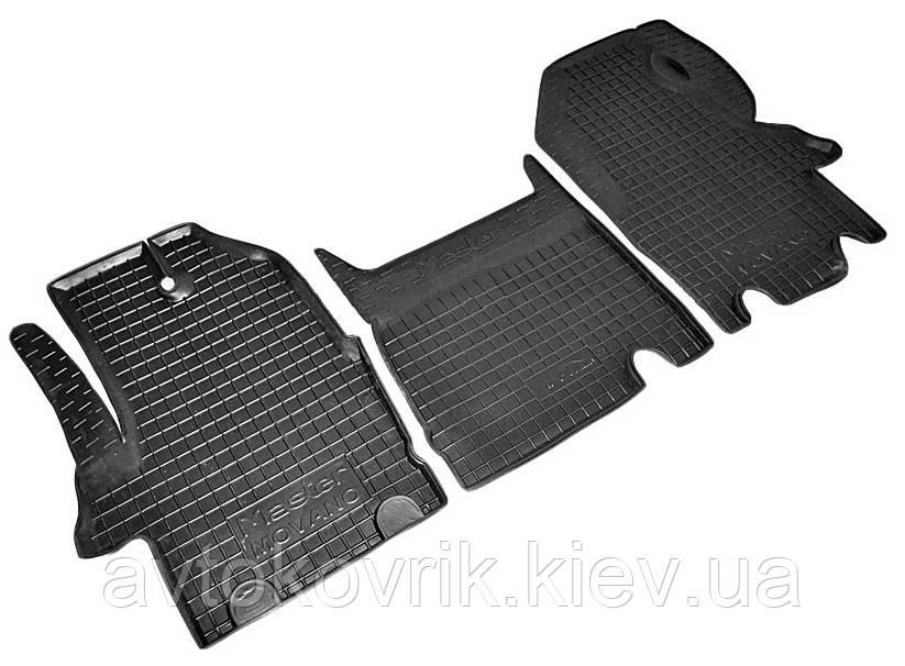 Полиуретановые коврики в салон Renault Master II 2003-2008 (AVTO-GUMM)