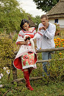 Наряд свадебный, украинский стиль