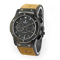 Мужские механические наручные часы Hublot Vendome на каучуковом ремешке