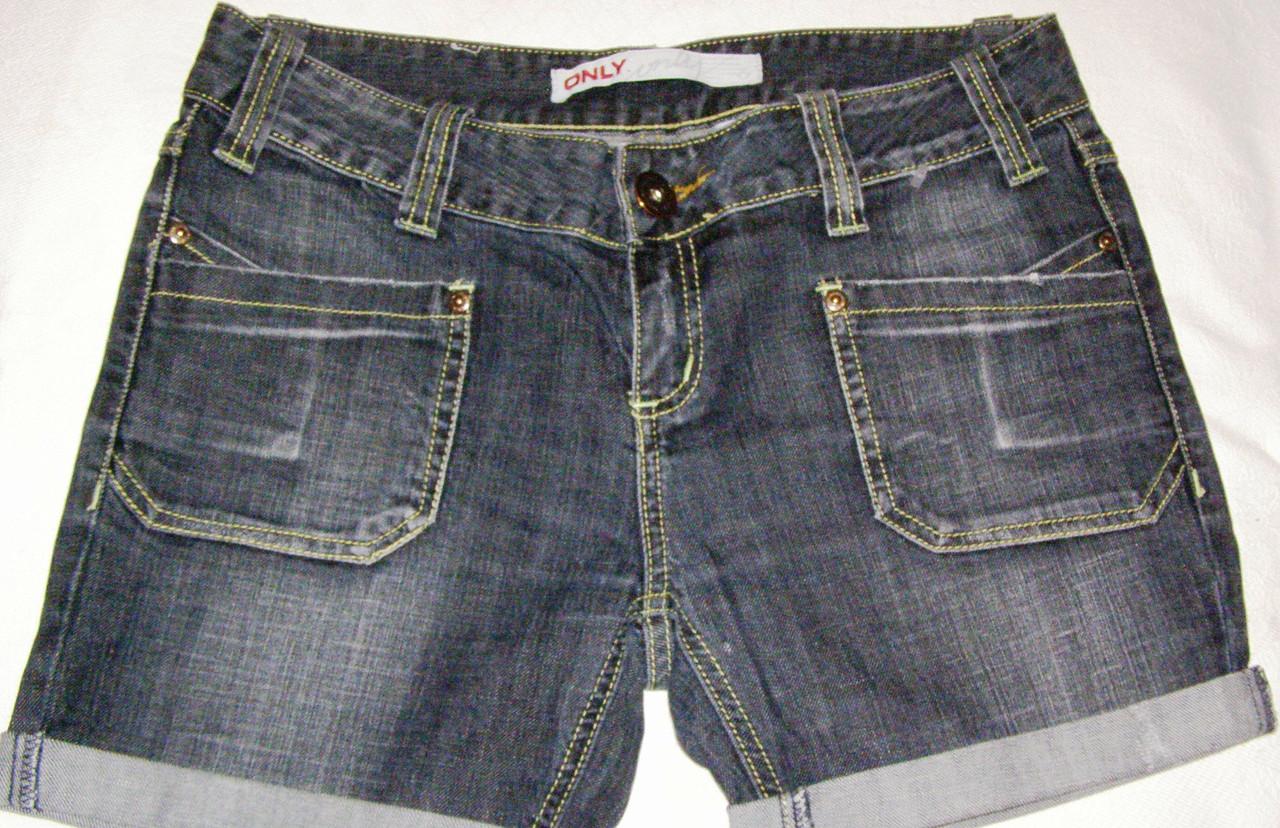 Шорти джинсові ONLY 38 р..