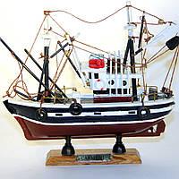 Модель рыбацкого корабля траулера 88142-20