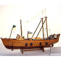 Модель корабля рыбацкий сейнер 55 см 40210-55