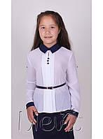 """Школьная блузка с длинным рукавом  """"Tone"""" Mevis"""