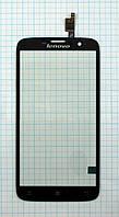 Тачскрин сенсорное стекло для Lenovo A850 black