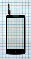 Тачскрин сенсорное стекло для Lenovo A820 black