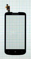 Тачскрин сенсорное стекло для Lenovo A800 black