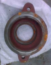Крышка корпуса подшипника  вала барабана ПУН-5 Н026.166 (10277) комбайн СК-5 НИВА, фото 2