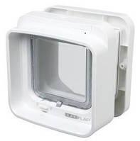 Двухсторонняя дверца – автомат для кошек  SureFlap  21х21см, белого цвета