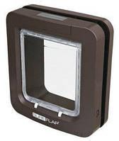 Дверца-автомат для котов и мелких собак SureFlap 26.2 х 28.1 коричневая