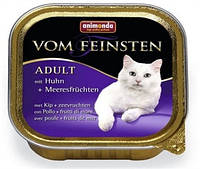 Консервы Animonda vom Feinsten Adult, для взрослых кошек, курица, морепродукты, 100 грамм