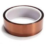 Термоскотч каптон Kapton 60мк 20мм x 33м каптоновый скотч термостойкий высокотемпературный Koptan, фото 3