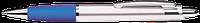 Ручка пластиковая ARROW Silver. Серебристо-синяя