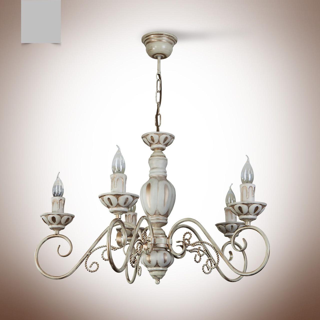 Люстра 5 ламповая для зала, спальни, кабинета  19005