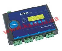 4х портовый сервер устройств, 10/ 100M Ethernet, RS-422/ 485, терминальный б (NPort 5430 w/ adapter)