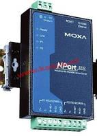 2х портовый RS-422/ 485 сервер устройств, 10/ 100M Ethernet, терминальный бл (NPort 5232 w/ adapter)
