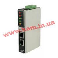 Ethernet сервер устройств с интерфейсом RS-232/ 422/ 485 (один порт), с каскадиров (NPort IA-5150-T)