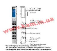 Модуль распределения дополнительного питания, изолирующий, вход 24VDC, 48VDC, 110VAC, 220AC (M-7002)