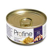 Profine Cat k  70g, морепродукты  - консервированный корм для взрослых кошек