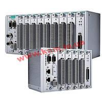 Modular RTU controller with M12 connectors, 2 I/ O slots, IEC61131-3, -40 t (ioPAC 8500-2-M12-IEC-T)
