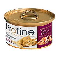 "Profine Cat k  70g, тунец и лосось - консервированный корм для кошек ""Tuna and Salmon"""