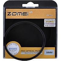 Зоряний (STAR-4), 4-х променевої світлофільтр ZOMEI 58 мм - скло