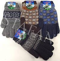 Мужские перчатки двойные Tanya 01-03 Z. В упаковке 12 пар