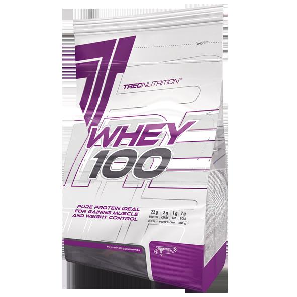 Протеин Сывороточный Trec Nutrition 100% whey 900 г