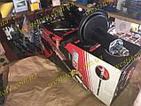 Амортизатор Ваз 2108 2109 21099 2113 2114 2115 передний левый (масло) Фенокс Fenox стойка разборная A61546C1, фото 2