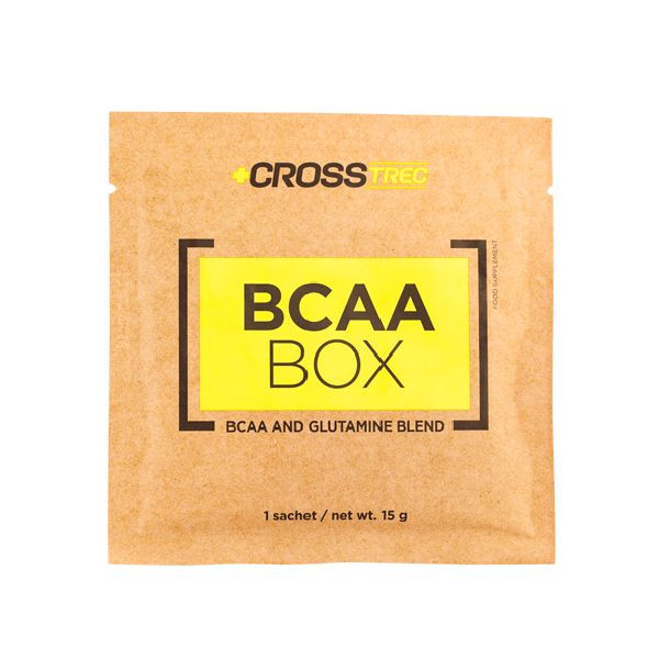 BCAA - Лейцин, Изолейцин, Валин TREC NUTRITION CROSSTREC BCAA BOX LEMON-GRAPEFRUIT 15 г