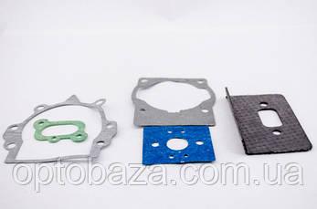 Комплект прокладок двигателя мотокос серии 40 - 51 см, куб, фото 2