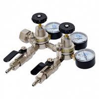 Батарея редукторов углекислотных пищевых Редуктор УРП-4-4ДМ (G3/4-два крана G1/4)