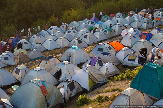 туричтияеские палатки