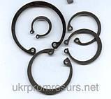 Кольцо стопорное А195 ГОСТ 13943-86. DIN 472, фото 2